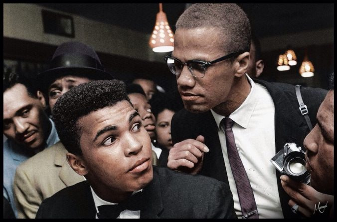 Malcolm and Ali - before the parting of ways